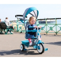 Triciclo 4 En 1 Teal LITTLE TIKES